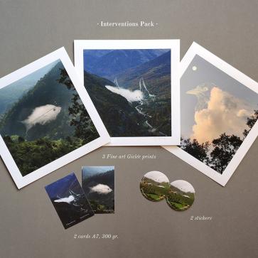 """""""Intervenciones"""" pack de Prints"""